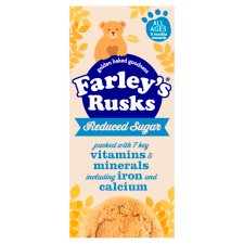 Farleys Rusks 4-6+ Months Reduced Sugar Original 150G