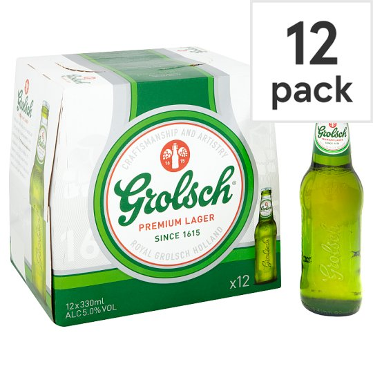 Grolsch Premium Lager 12X330ml Bottle