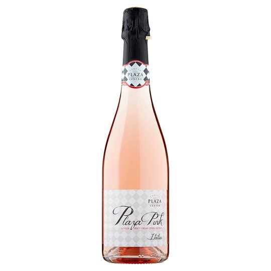 Tesco Plaza Pink Sparkling Rose Brut 75Cl