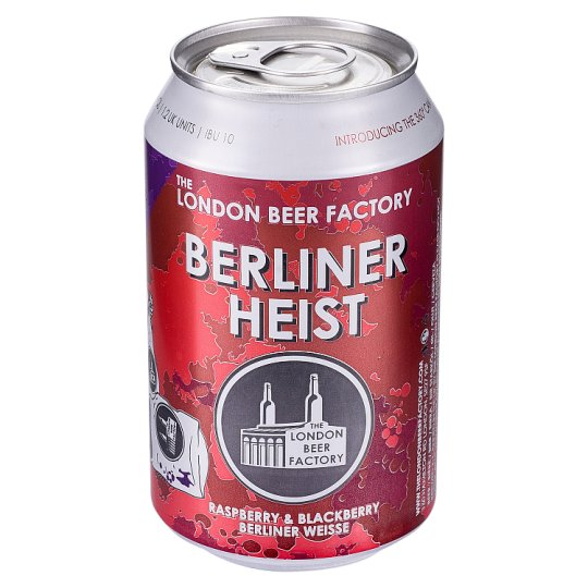 image 1 of London Beer Factory Berliner Heist 330Ml