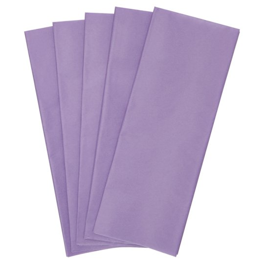 Tesco Lilac Tissue 5 Sheets