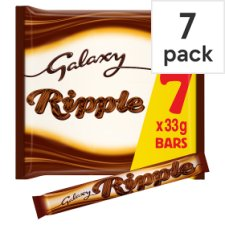 Galaxy Ripple Chocolate Multipack 7 X33g