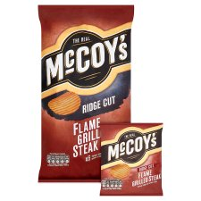 Mccoys Flame Grilled Crisps 6 X 28.5G