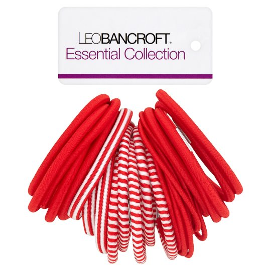 Leo Bancroft School Bands Red 30 Pack