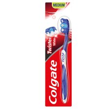 Colgate Twister White Manual Toothbrush