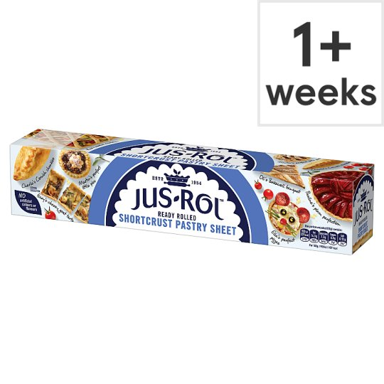 Jus-Rol Shortcrust Pastry Ready Rolled Sheet 320G
