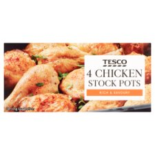 Tesco Chicken Stockpot 4 Pack 112G