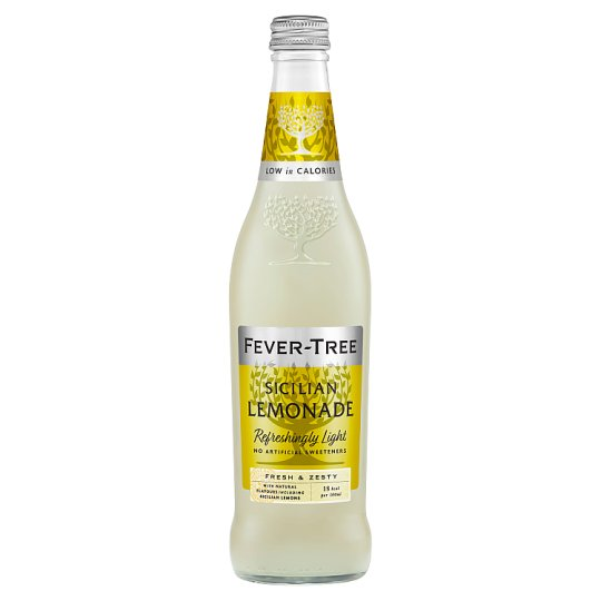 Fever Tree Light Sicilian Lemonade 500Ml