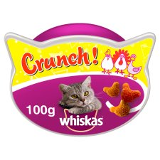 Whiskas Crunch Cat Treats 100 G
