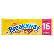 Nestle Breakaway Milk Chocolate Biscuits 16 Pack 305.6G