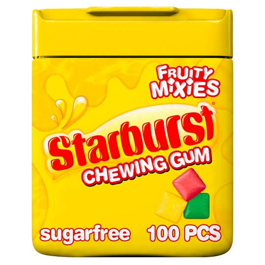 Starburst Gum Fruity Mix Mini Pellets