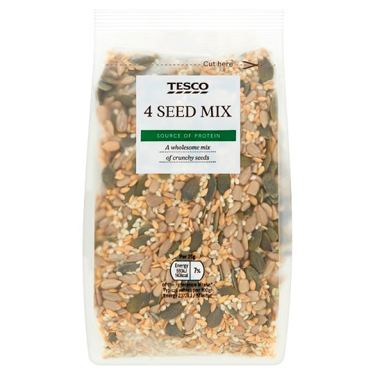 Tesco Wholefoods 4 Seed Mix 300G