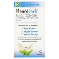 Menoherb Black Cohosh Menopause Relief 30 Tablets