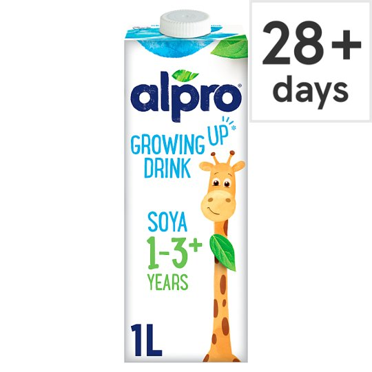 Alpro soya longlife growing up drink 1 litre tesco groceries for Alpro soya cuisine light