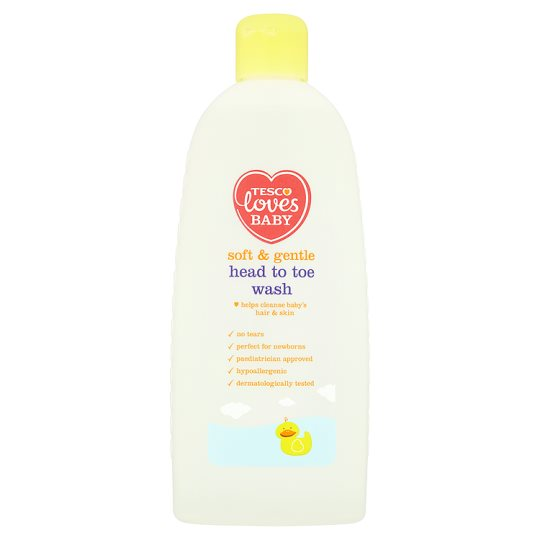 Tesco Loves Baby And Toddler Head To Toe Wash 500Ml