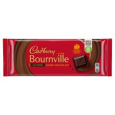 Cadbury Bournville Dark Chocolate Bar 180G