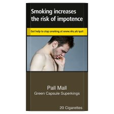 Pall Mall Green Superkings 20 Pack
