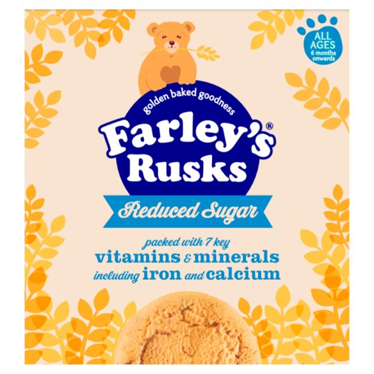 Farley's Rusks Reduced Sugar Original 18'S 300G