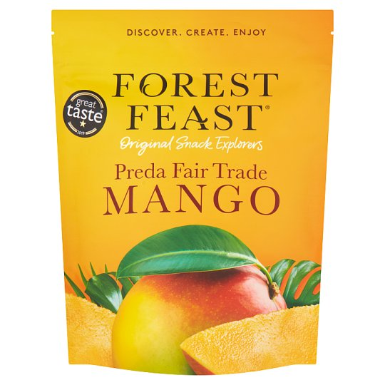 Forest Feast Preda Fair-Trade Dried Mango 100G