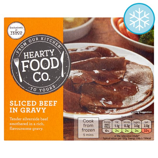 Hearty Food Co. Sliced Beef In Gravy 210G