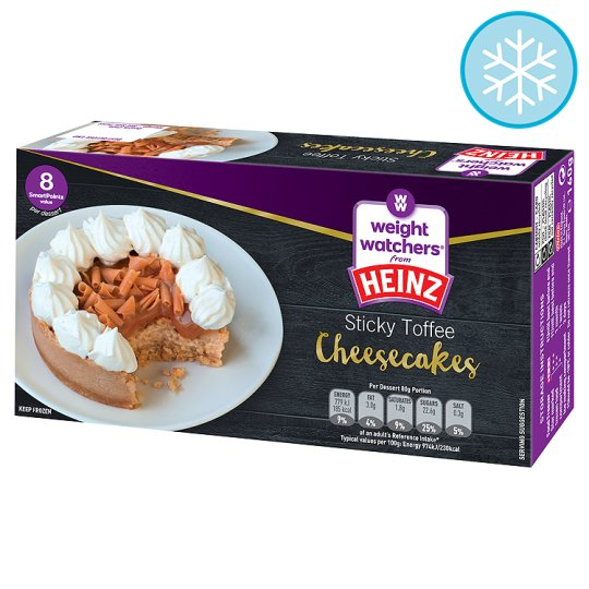 Weight Watchers 2 Sticky Toffee Cheesecakes 160G