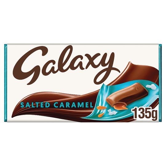 image 1 of Galaxy Salted Caramel Chocolate Bar 135G