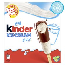 Kinder Ice Cream Sticks 10 X 36Ml