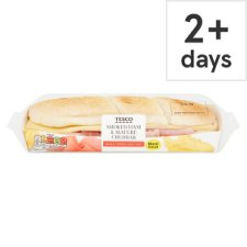 Tesco Ham And Cheddar Cheese Sub