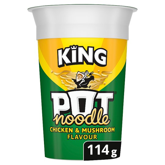 Pot Noodle King Chicken And Mushroom 114G