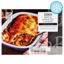 Tesco Beef And Pancetta Lasagne 400G