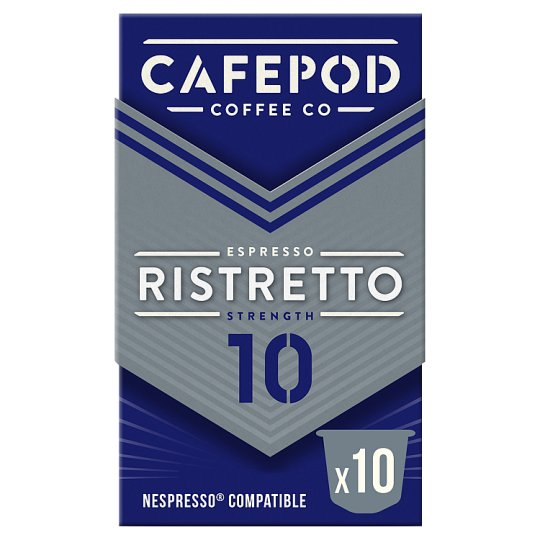 image 1 of Cafepod 10 Capsules Ristretto Coffee 55G