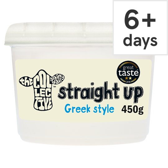 The Collective Straight Up Yogurt 450G