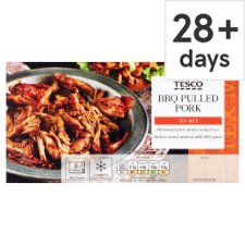 Tesco Tex Mex Bbq Pulled Pork 380G