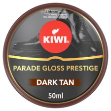 Kiwi Dark Tan Parade Gloss Shoe Polish 50Ml