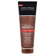 John Frieda Brilliant Brunette Visibly Deeper Shampoo 250Ml