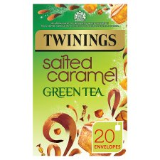 Twinings Green Tea Salted Caramel 20 Tea Bags 40G