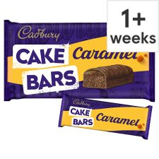 image 1 of Cadbury Caramel Cake Bars 5 Pack