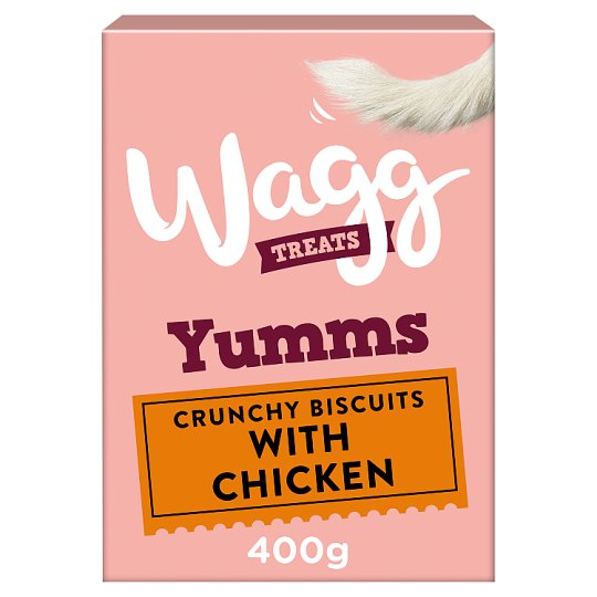 Wagg Mmms With Chicken 400G