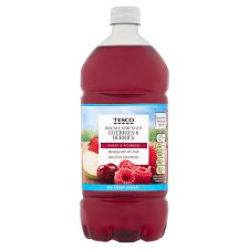 Tesco Double Concentrate Cherries Berries No Added Sugar Squash 1.5L