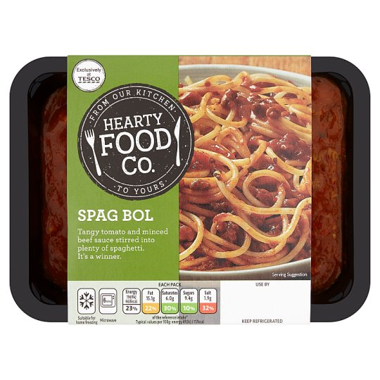 Hearty Food Company Spaghetti Bolognese 400G