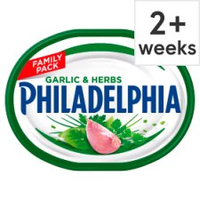 Philadelphia Soft Cheese With Garlic And Herb 270 G