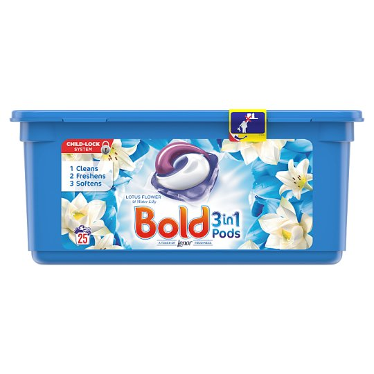 Bold 3In1 Pods Lotus Flower 25 Washes