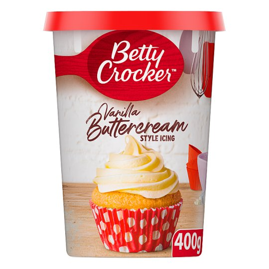Betty Crocker Vanilla Buttercream Icing 400G