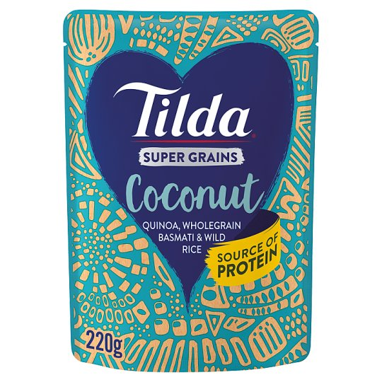 Tilda Super Grains Coconut 220G
