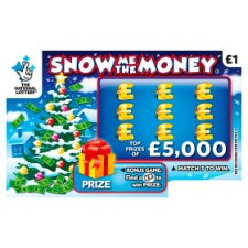 Snow Me The Mone Scratchcard
