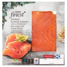 Tesco Finest Smoked Salmon With Whisky 100G