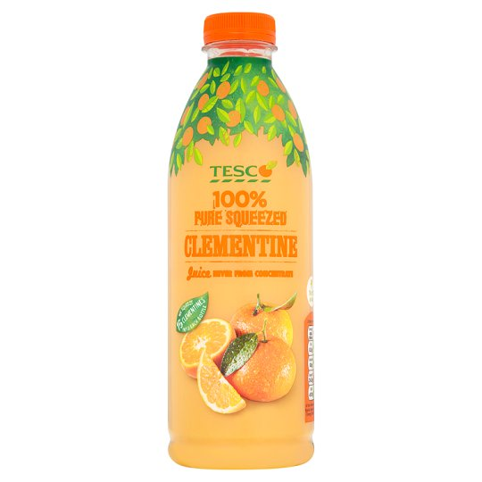 Tesco Clementine Juice Not From Concentrate 1L