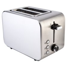 Tesco 2Tss15 2 Slice Stainless Toaster