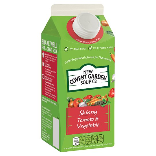 New Covent Garden Skinny Tomato And Vegetable Green Soup 700G