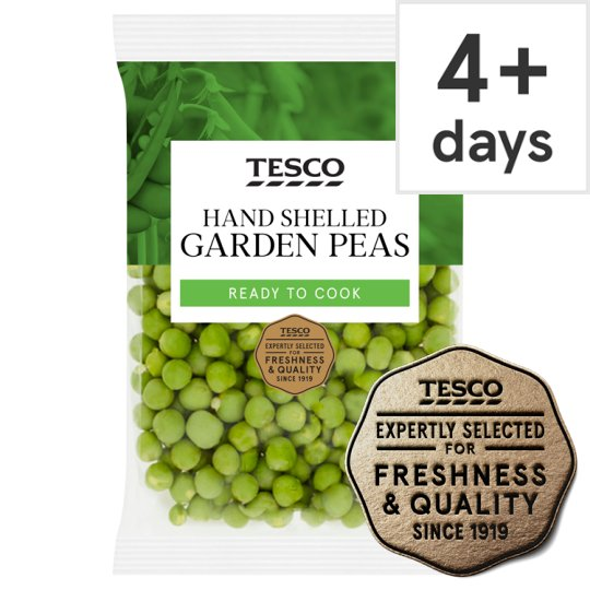 Tesco Hand Shelled Peas 160G